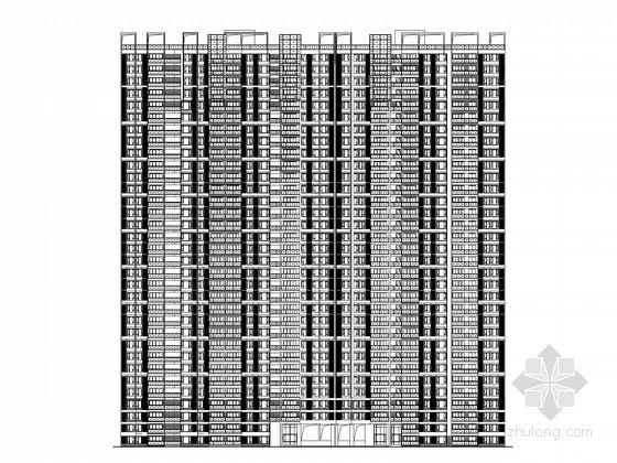 [深圳]33层高层住宅楼建筑施工图