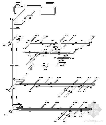 郑州餐饮公司空调设计图纸