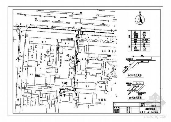 邯郸市某大厦热力站工艺管道设计全套图纸