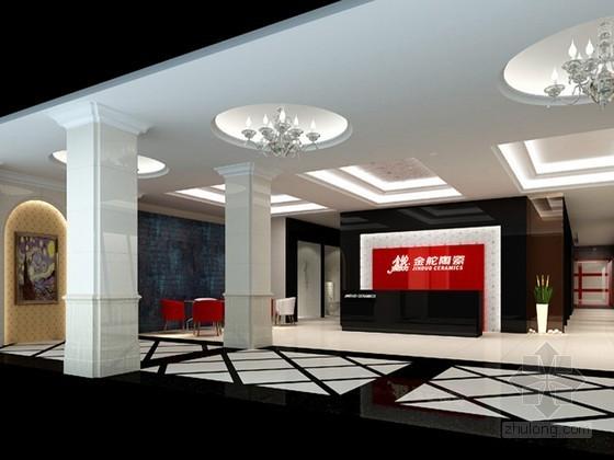 vr展厅3d模型资料下载-陶瓷展厅3D模型下载