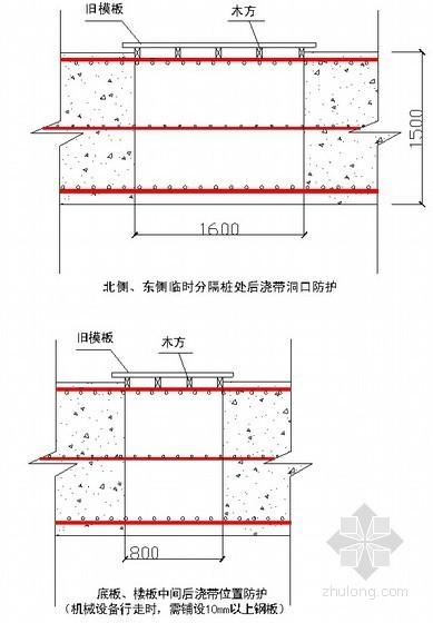 [上海]住宅工程深基坑支撑体系拆除施工方案