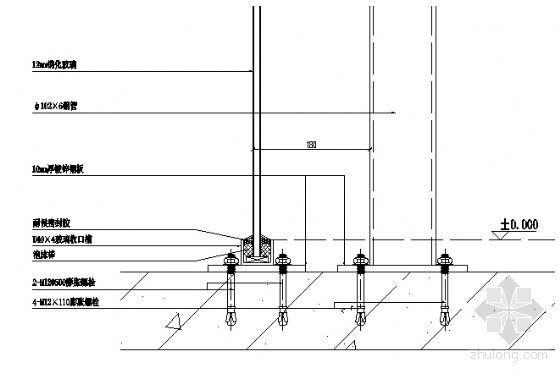 底层楼板纵剖节点图