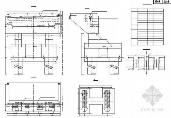 混凝土肋板式桥台及基础构造节点详图设计