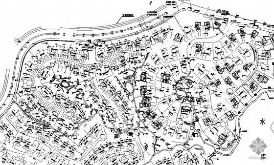 重庆居住区组团绿地景观施工图