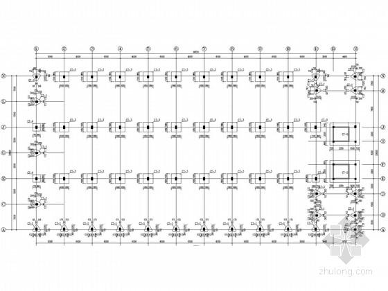 带吊车成品车间结构施工图(含PKPM计算书)