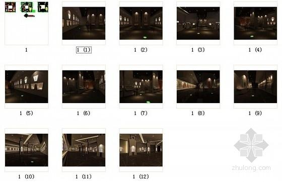 [北京]东二环现代风格专题博物馆室内设计方案图资料图纸总缩略图