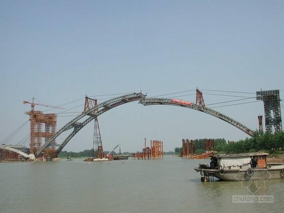 市政工程拱肋系杆拱桥施工组织设计(单跨105m 裂缝控制)