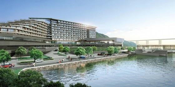 [重庆]多层退台式五星级温泉酒店建筑设计方案文本