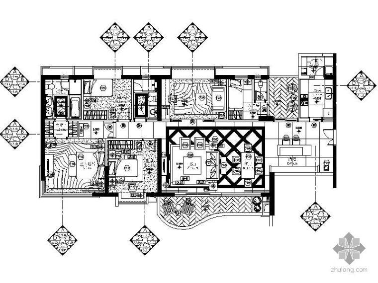 [珠海]A3样板房交楼标准施工图