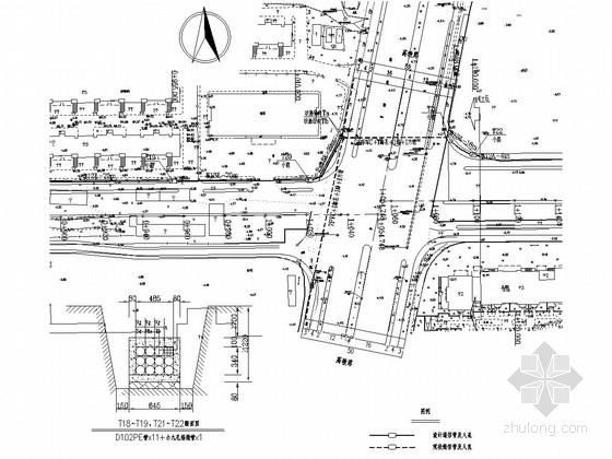 [浙江]城市主干路工程全套施工图设计151张