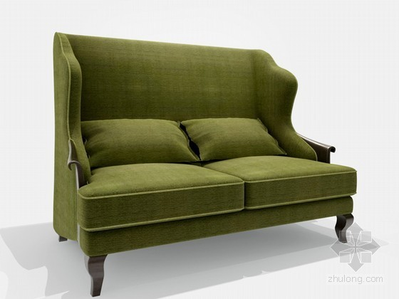 欧式新古典双人沙发