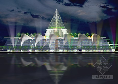 天津某膜结构商业广场工程施工组织设计
