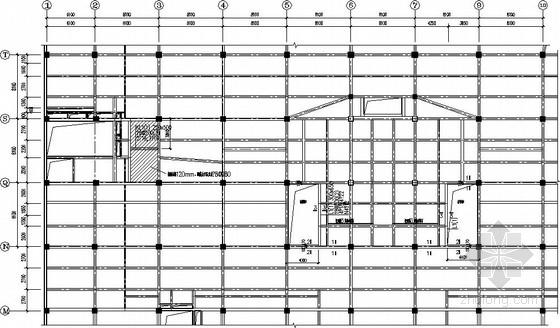 扶梯迁移结构加固施工图