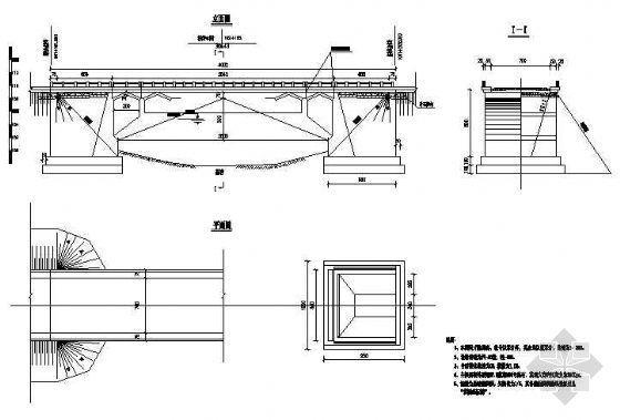 25m石拱桥施工图
