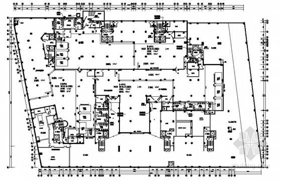 人防地下室给排水图