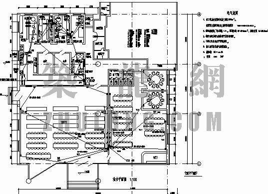 某职工食堂电气施工图