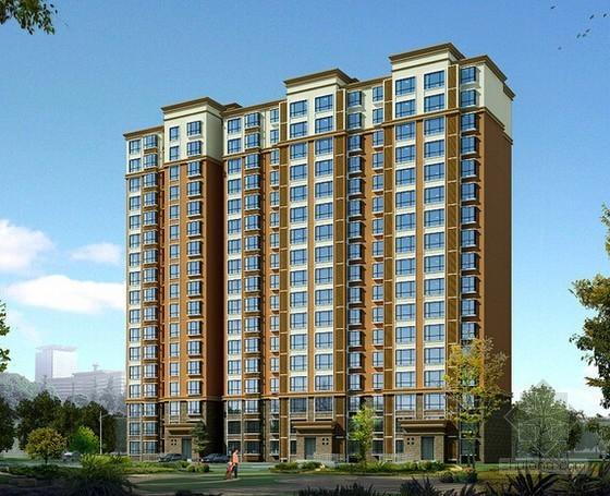 3层办公宅楼土建工程量计算及清单计价实例(附图纸)