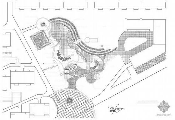 河北某小区中心景区施工图