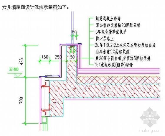 北京某公寓屋面工程施工方案(种植屋面 改性沥青防水卷材)