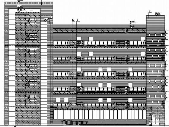 某市教师进修学校校园区整体建筑设计施工文本