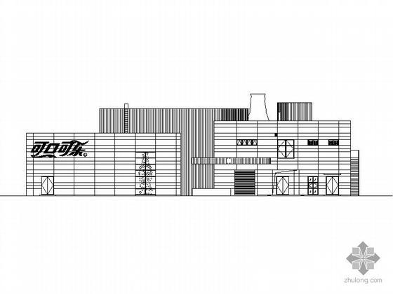 [上海世博会]可口可乐企业馆建筑施工图