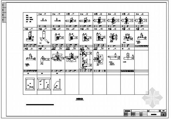 某焊缝标准节点构造详图