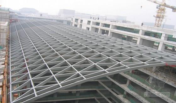 [QC成果]提高大跨度单层网壳屋面钢结构滑移施工质量