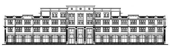 某四层厂房建筑设计图