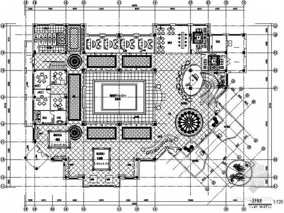 [江苏]欧式风情两层售楼处装修设计施工图