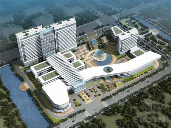 [浙江]现代风格高层人民医院规划及建筑设计方案文本