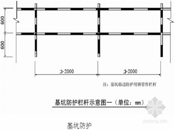 [山西]物流园基坑支护工程复合土钉墙喷锚支护施工方案
