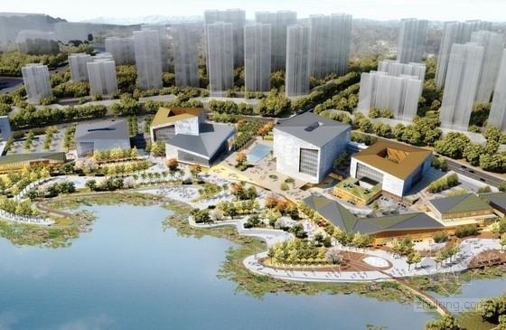 [广东]荷庭舫间文化中心及步行街区建筑设计方案文本