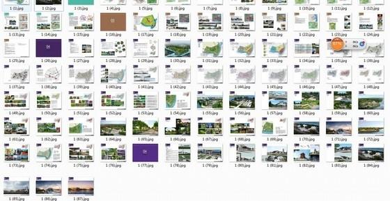 [安徽]徽派文化中央绿肺水口园林片区景观规划设计方案-缩略图