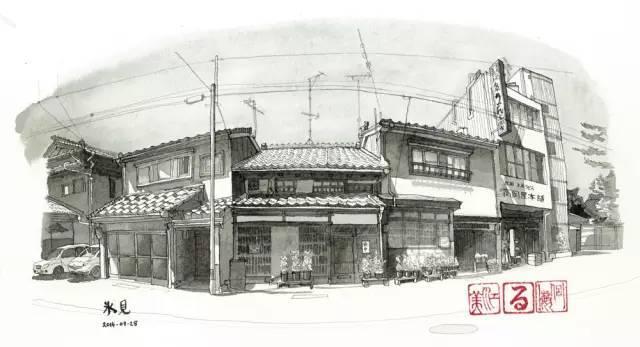 建筑手绘,国外设计师画的就是好看!_16