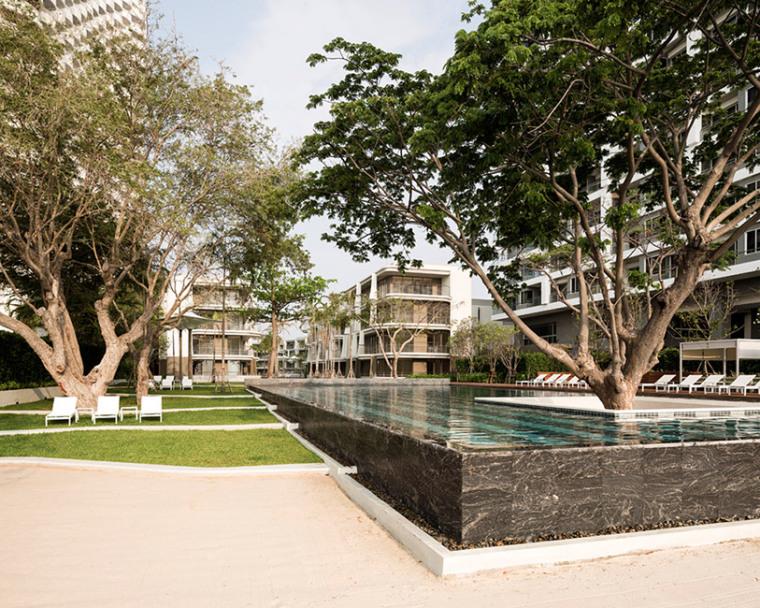 泰国佩彻布里Baan San Kraam住宅景观
