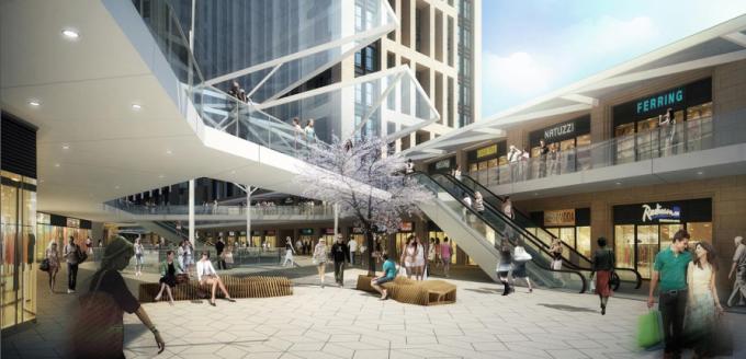 [湖北]生态海绵城市中央绿轴地下立体化商业广场景观绿化设计方案(2017最新)_10