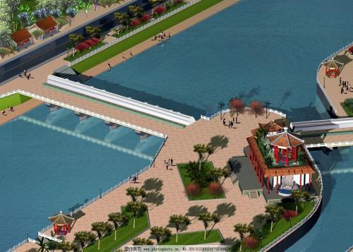 给排水工程施工案例之河流排水闸安装施工方案
