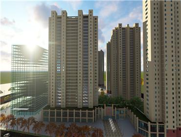 BIM技术应用于义井逍邦(二期)城中村改造项目