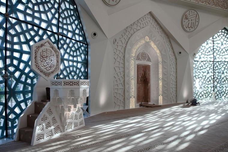 土耳其马尔马拉大学神学系清真寺-7