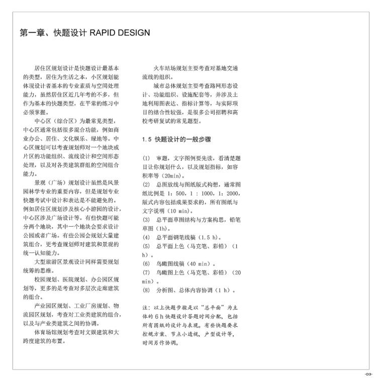 《城市规划快题100例》考研手绘资料-A (5)