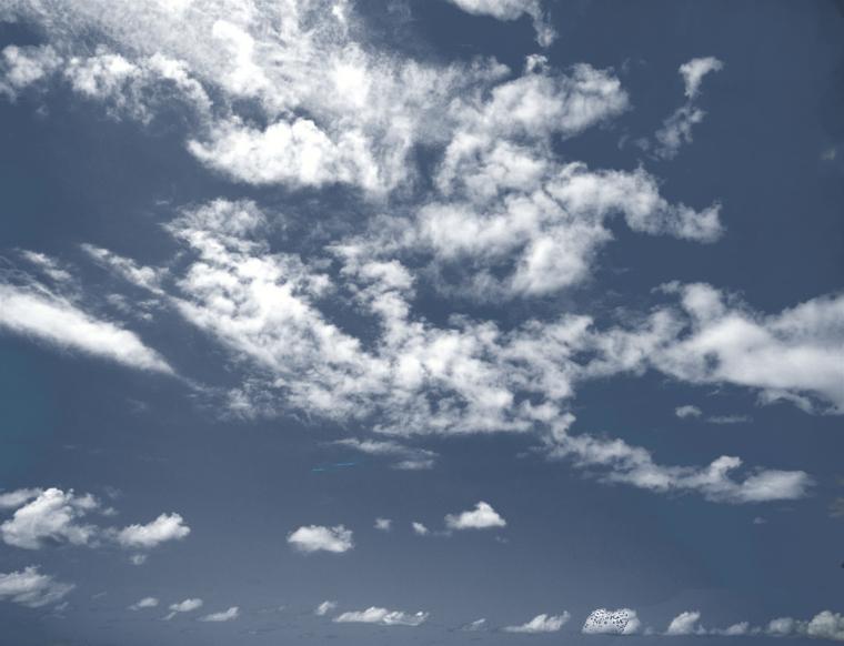 12张高清后期云朵PSD素材