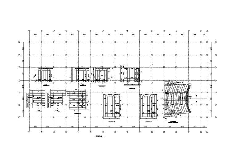 4层钢混框架结构商业综合体结构施工图2016