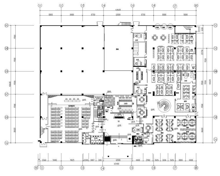 某某某办公楼室内装修设计施工图