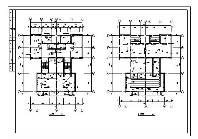 10套双拼别墅给排水电气设计图(2)_5