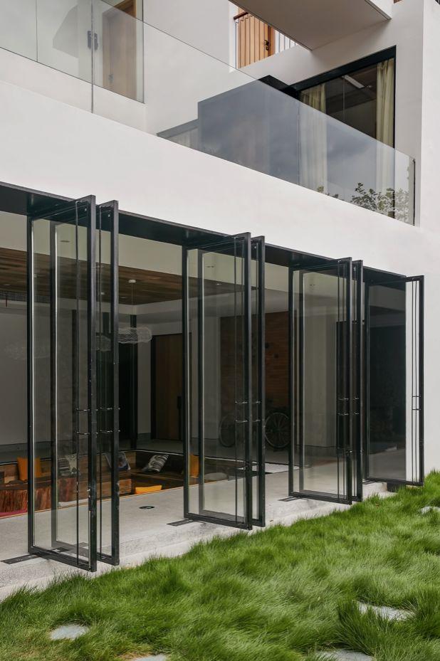水泥厂改造成民宿,自然简约的设计就是这么美_9