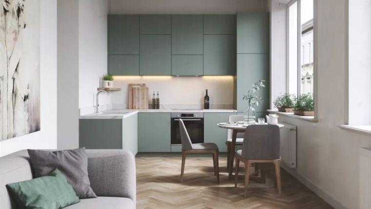 L型厨房设计,会选橱柜就够了吗?