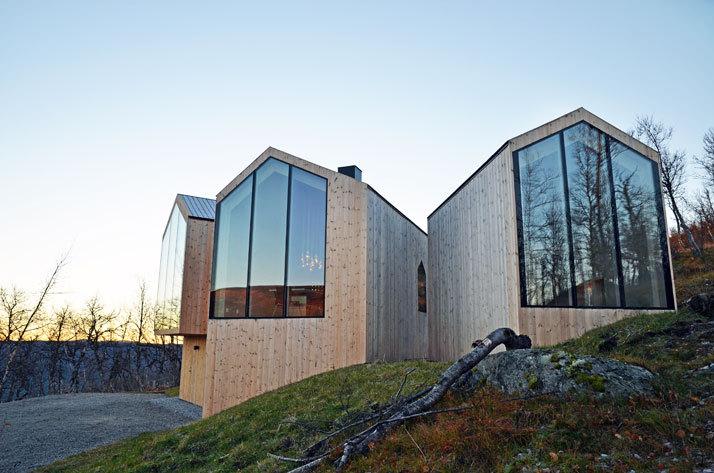 挪威当代山地小屋_3