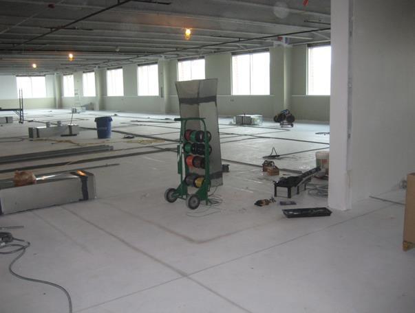 地板送风系统施工工法