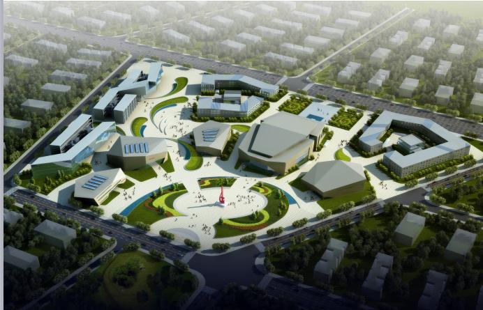 资中城南城市商业综合体建筑设计方案文本