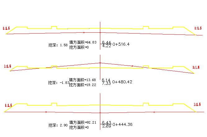 城市次干道标准毕业设计(说明书61页,土方量计算表,图纸25张)